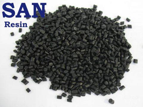 SAN Black granules copy